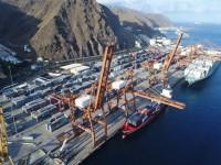 Tenerife estreia-se no transhipment de contentores