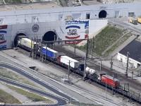 Eurotunnel transporta mais camiões do que nunca
