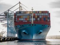 Maersk Evora movimentou quase 25 mil TEU numa escala