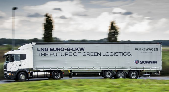 Camiões a gás também não pagarão as portagens alemãs