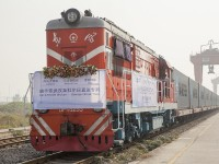 Maersk Line e Damco realizam comboio-bloco entre a China e a Europa