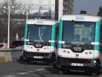 Paris testa segunda fase dos minibus eléctricos autónomos