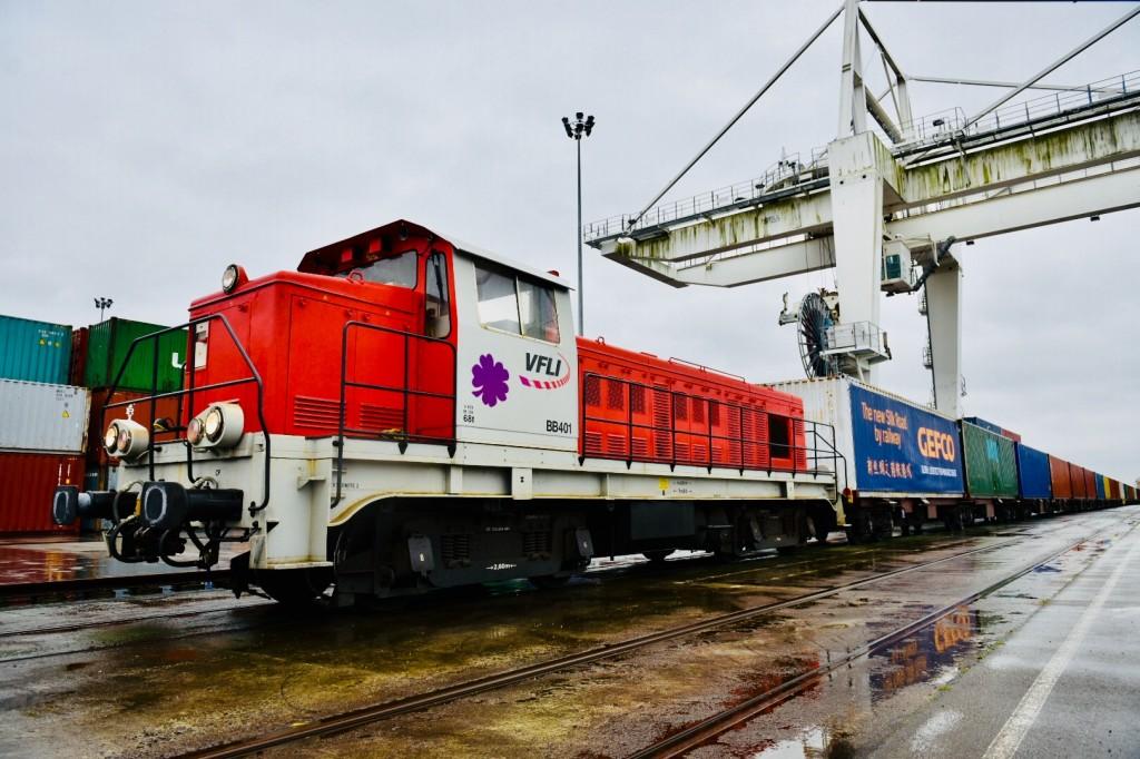 GEFCO - Comboio China-França