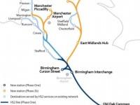 Cinco vão disputar comboios da HS2 britânica