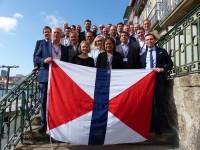 Euronave trouxe ao Porto agentes europeus da Swire Shipping