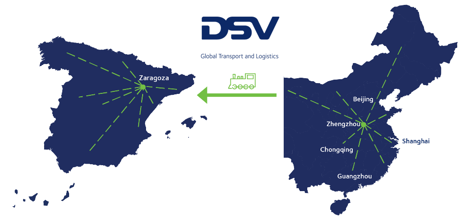 DSV - Comboio China