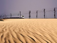 TGV do Deserto testa ligação entre Medina e Meca