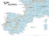 Corredor Atlântico prolongado até Saragoça