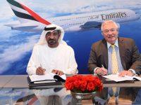 """Emirates """"salva"""" A380 com encomenda de mais 20"""
