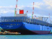 Frota de porta-contentores cresce 250 mil TEU só em Janeiro