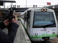 Renfe testa o primeiro comboio do mundo a GNL