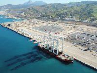 APMT recebe primeiros pórticos STS para o MedPort Tangier