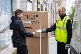 "XPO lança ""última milha"" para produtos pesados na Europa"