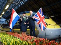 Eurostar testa ligação Londres-Amesterdão