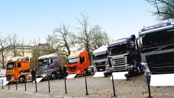 ACEA: Vendas de camiões caíram 55%