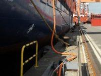 Antuérpia reforça abastecimento eléctrico aos navios