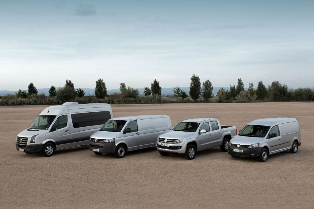 Vendas da VW Veículos Comerciais crescem até Abril