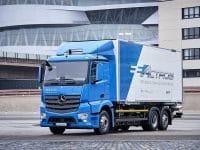 Dachser prepara estreia do Mercedes eActros