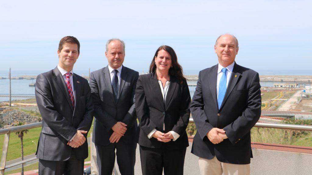 Porto de Sines recebeu Conselheira Comercial da Embaixada dos EUA