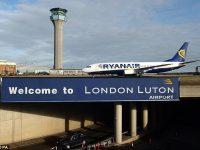 Aena renuncia a comprar 100% do aeroporto de Luton