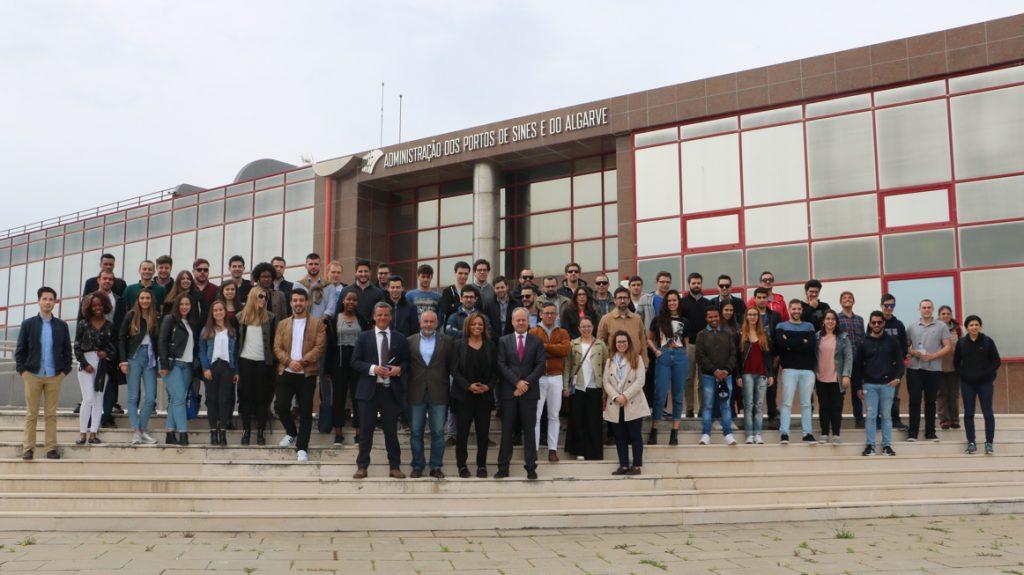 Porto de Sines recebeu alunos da ENIDH e Academia MSC