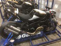 Garland quintuplica capacidade de transporte de motos