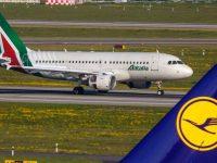"Lufthansa lidera ""corrida"" à Alitalia"