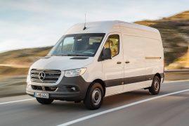 Nova Mercedes Sprinter nos mercados em Junho