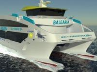 """Baleària recebe segundo """"eco fast ferry"""" este mês"""