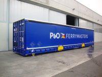 P&O Ferrymasters compra 240 caixas móveis