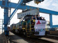 Antuérpia estreia comboio directo com a China