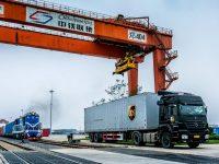 UPS lança comboio entre Duisburgo e Hong Kong
