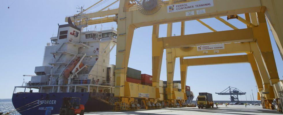 O terminal de contentores de Ferrol é detido pela Yilport