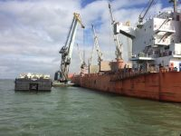 Grupo ETE carregou 56 mil toneladas de clínquer no Tejo