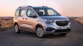 Opel inicia lançamento da nova Combo