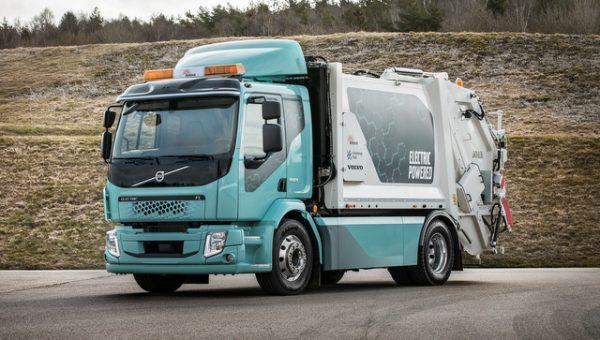 Volvo FE eléctrico chega em 2019