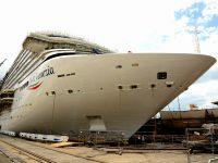 "Fincantieri lança navio ""chinês"" da Costa Cruises"