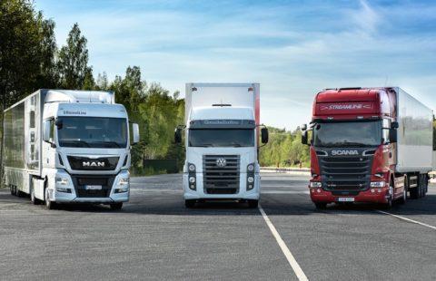 A Volkswagen Truck & Bus vai passar a denominar-se Traton Group. As diferentes marcas da holding mantêm-se.