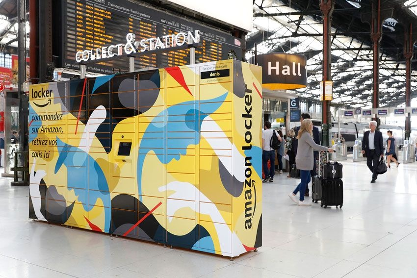 Amazon instala Amazon Lockers nas gares da SNCF