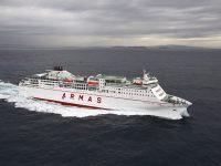 FRS inicia serviço Huelva-Canárias