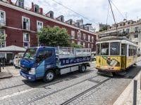 Câmara de Lisboa testa Fuso eCanter