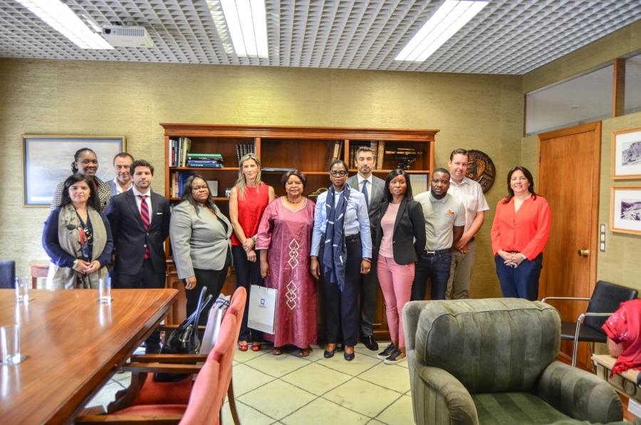 Delegação da Namíbia visitou o porto de Leixões