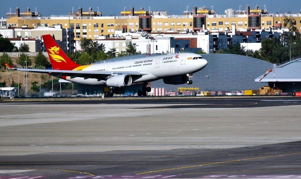 Beijing Airlines suspende voos Lisboa-Pequim