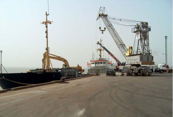 BAD financia dragagem do porto de Bissau