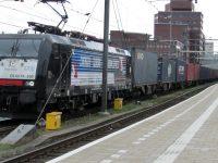 GVT testa segundo comboio Tilburg-China