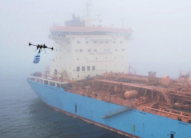 Os testes de drones em Singapura iniciam-se no terceiro trimestre