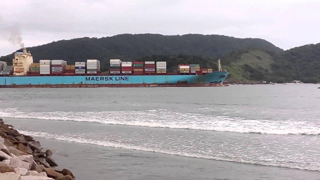 Maersk: exportações brasileiras ficam em terra por overbooking