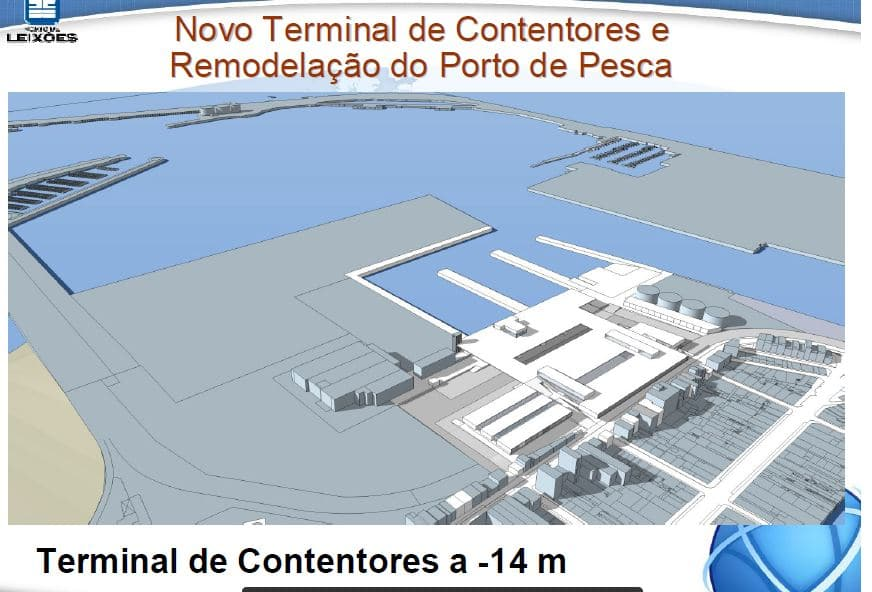 CEF co-financia acessibilidades marítimas de Leixões