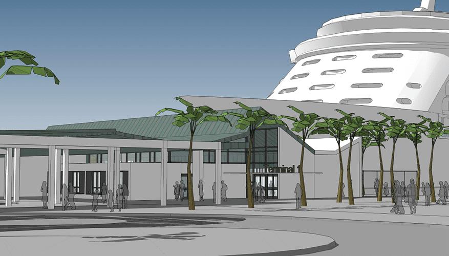 Enapor lança concurso para o terminal de cruzeiros de Porto Grande