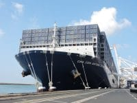 CMA CGM encomendou dez navios de 15500 TEU